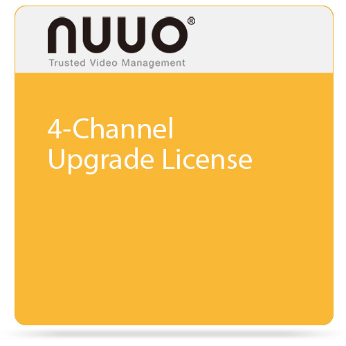 NUUO 4-Channel Upgrade License