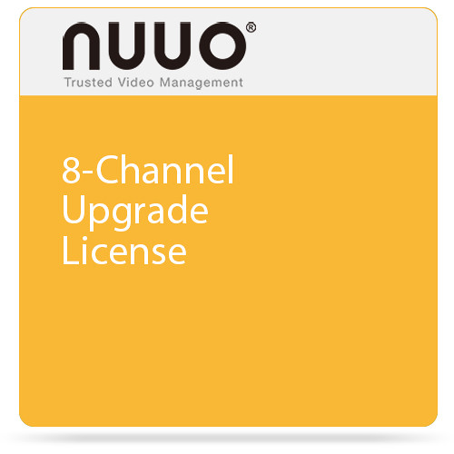 NUUO 8-Channel Upgrade License