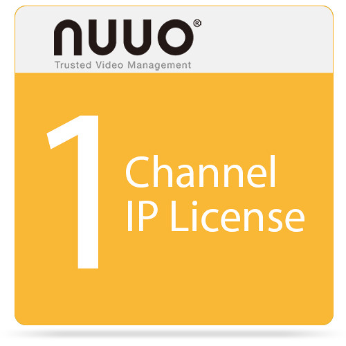 NUUO 1-Channel IP License