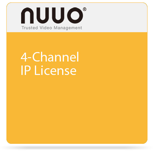 NUUO 4-Channel IP License