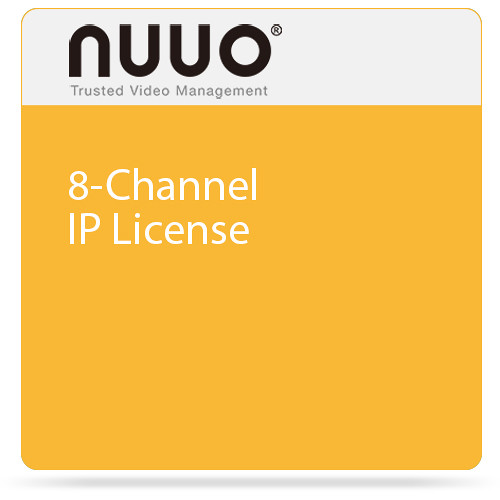 NUUO 8-Channel IP License