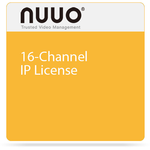 NUUO 16-Channel IP License