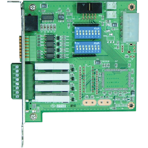 NUUO SCB-G3-IO 4-Channel Digital Input Relay Output Card