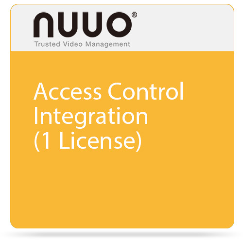 NUUO Access Control Integration (1 License)