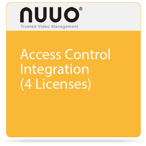 NUUO Access Control Integration (4 Licenses)
