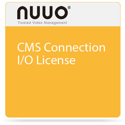 NUUO CMS Connection I/O License