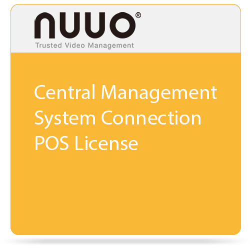 NUUO Central Management System Connection POS License