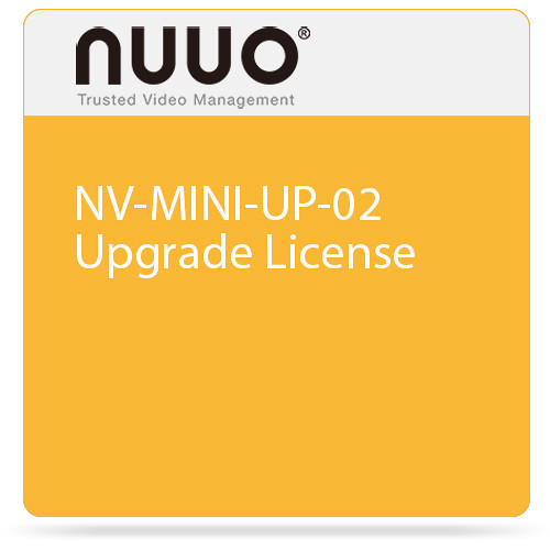 NUUO NV-MINI-UP-02 Upgrade License