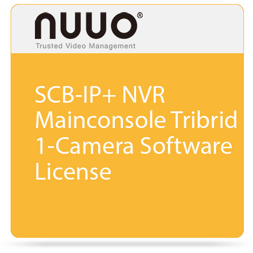 NUUO SCB-IP+ NVR Mainconsole Tribrid 1-Camera Software License
