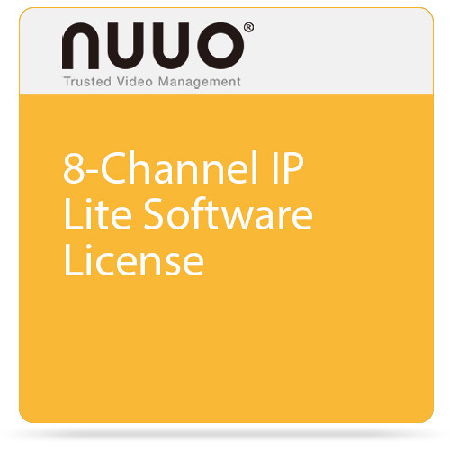 NUUO 8-Channel IP Lite Software License