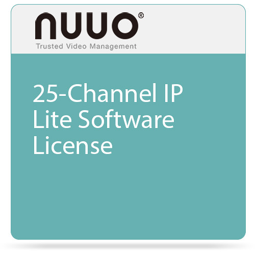 NUUO 25-Channel IP Lite Software License
