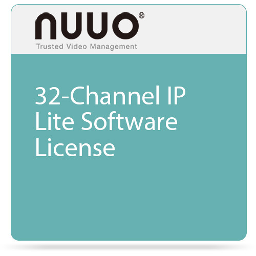 NUUO 32-Channel IP Lite Software License
