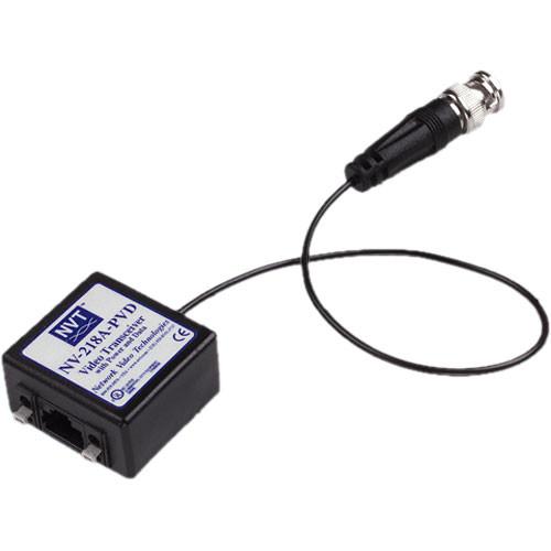 NVT NV-218A-PVD Video-Power-Data Passive Transceiver