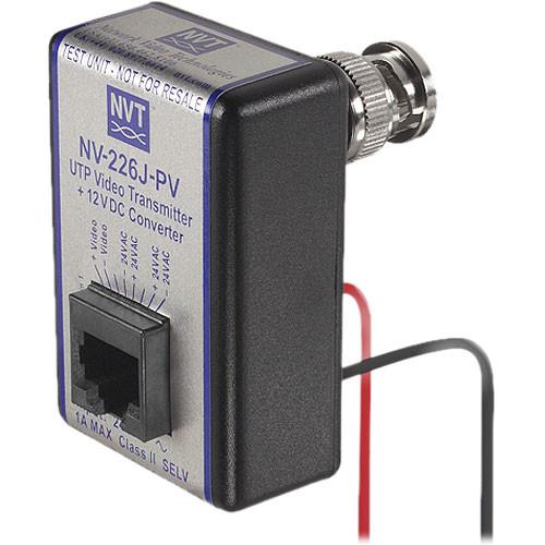 NVT NV-226J-PV UTP Video Transmitter + 12 VDC Converter
