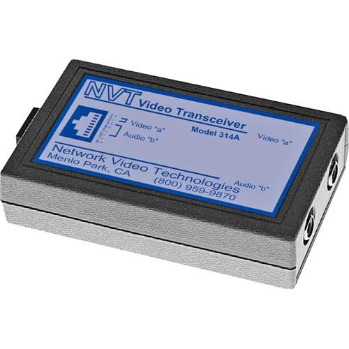 NVT NV-314A  Single Channel Passive Video/Audio Transceiver