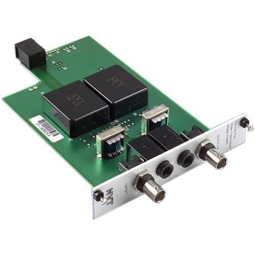 NVT NV-418AR  Dual Channel Passive Video/Audio Transceiver (Rackmount)