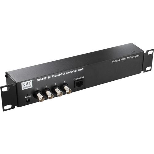 NVT NV-442 StubEQ Active Receiver Hub (4 Channels)