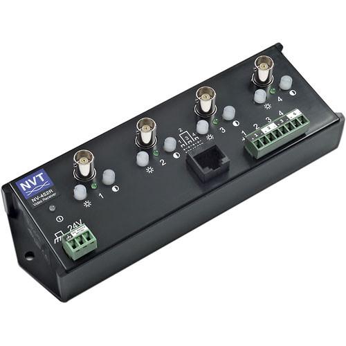 NVT NV-452R 4-Channel Active Video Transceiver