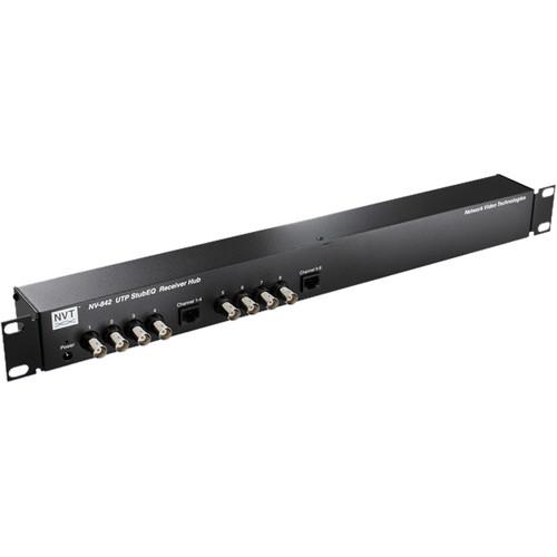 NVT NV-842 StubEQ Active Receiver Hub (8 Channels)