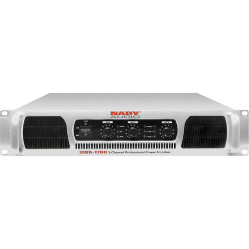 Nady 3WA-1700 Rackmount 3-Channel Power Amplifier