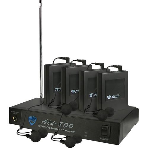 Nady ALD-800 Wireless Assistive Listening System (BB: 72.3MHz)