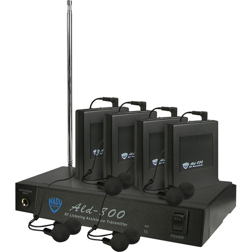 Nady ALD-800 Wireless Assistive Listening System (DD: 72.7MHz)