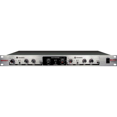 Nady CX-23SW 3-Way Stereo & Subwoofer Crossover