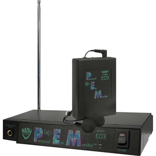 Nady EO3 Wireless In-Ear Personal Monitoring System (Channel GG: 75.7MHz)