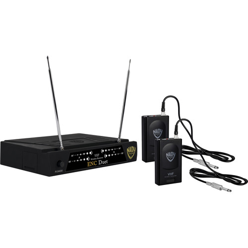 Nady Encore Duet Dual Receiver VHF Wireless Guitar System
