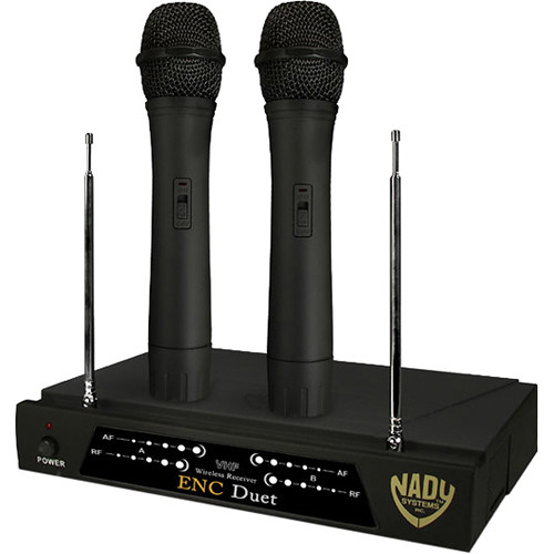 Nady Encore Duet Dual Wireless Handheld System