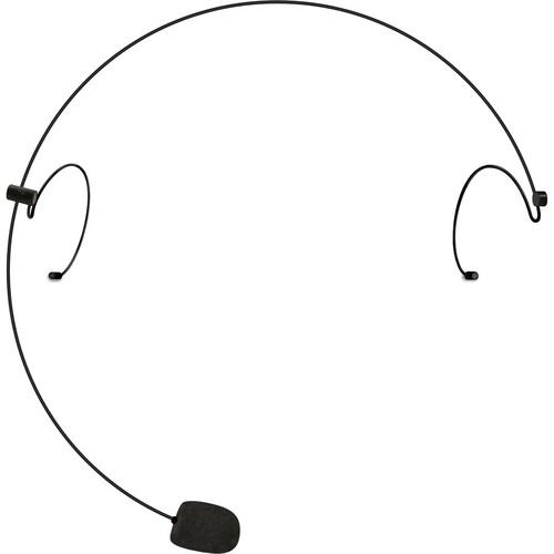 Nady HM-20U HEADMIC Series Headworn Condenser Microphone with 3-Pin Mini-XLR Connector (Black)