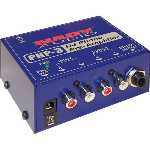 Nady PHP-3 DJ Phono Preamplifier