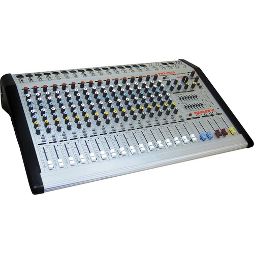 Nady PMX-1600 16-Channel/2-Bus Powered Console Mixer