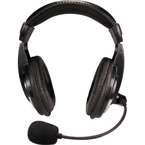 Nady QHM-100 Closed-Back Stereo Headphones with Boom Mic