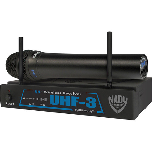 Nady UHF-3 Handheld UHF Wireless Microphone System
