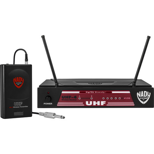 Nady UHF-4 UHF Wireless Diversity Guitar System