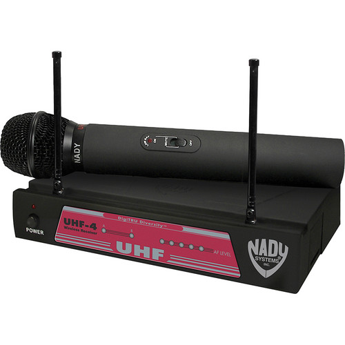Nady UHF-4 Handheld UHF Wireless Microphone System