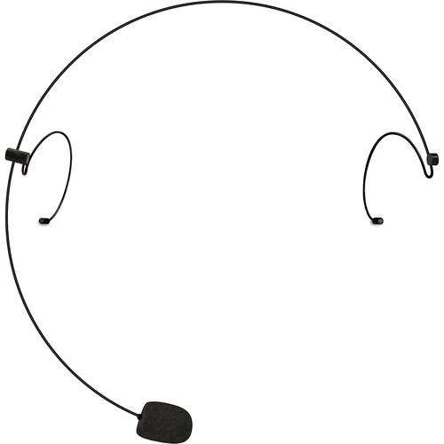 Nady HeadMic HM-10 Head Worn Microphone with a 3.5mm Locking Plug Connector (Black)
