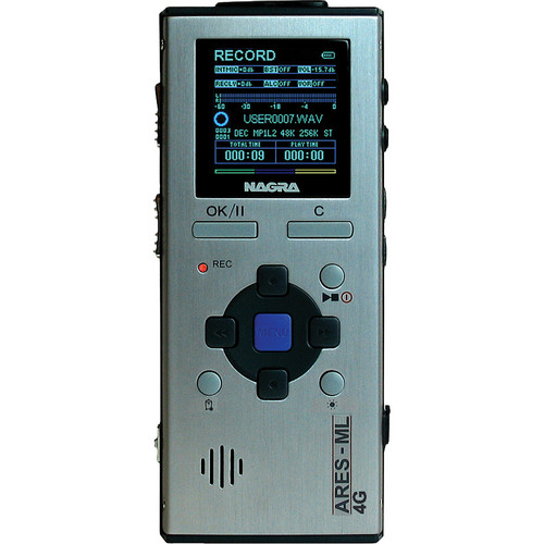 Nagra ARES-ML4 Ultra Compact Solid State Digital Audio Recorder
