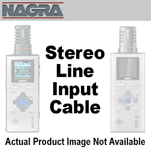 Nagra CM-MICLS - Stereo Line Input Cable For ARES-M/MII