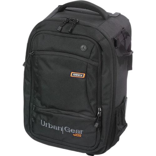 Naneu Urban Gear U220 SLR/Laptop Backpack, Large (Black)