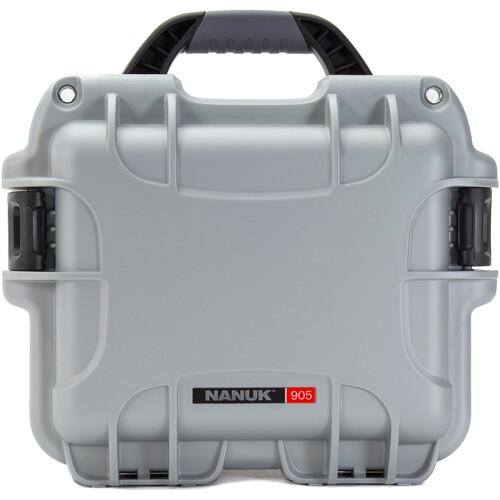 Nanuk 905 Hard Utility Case without Insert (Silver)