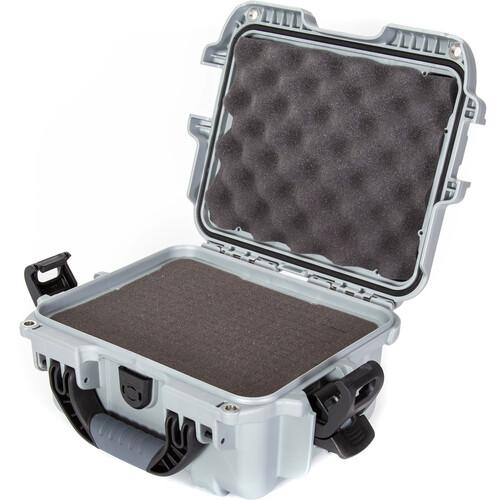 Nanuk 905 Hard Utility Case with Foam Insert (Silver)