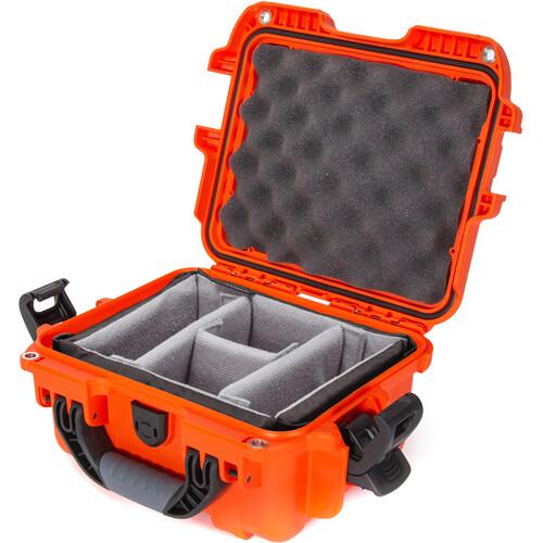 Nanuk 905 Hard Utility Case with Padded Divider Insert (Orange)