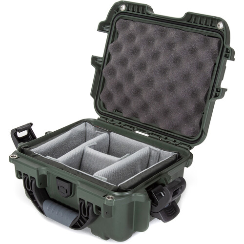 Nanuk 905 Case with Padded Dividers (Olive)
