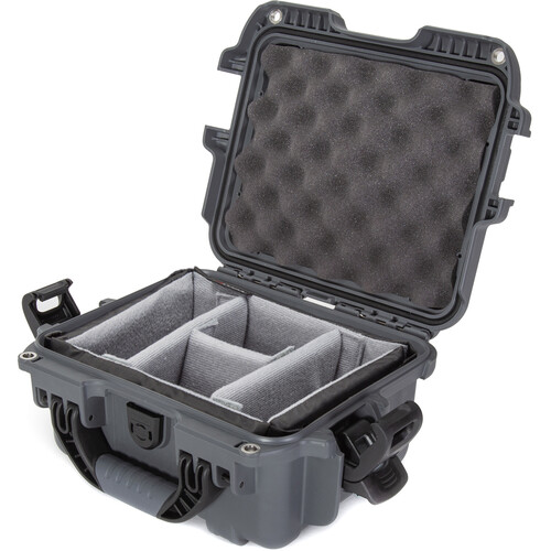 Nanuk 905 Case with Padded Dividers (Graphite)