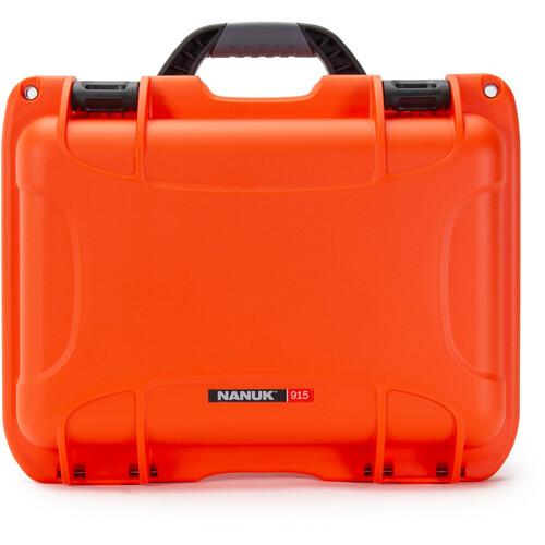 Nanuk 915 Medium Series Case (Orange, Empty)