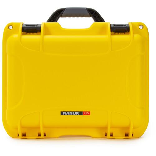 Nanuk 915 Hard Utility Case without Insert (Yellow)