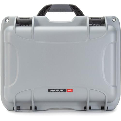 Nanuk 915 Medium Series Case (Silver, Empty)