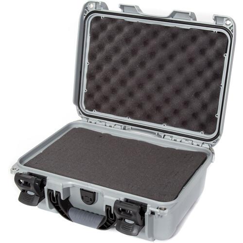 Nanuk 915 Case with Foam (Silver)